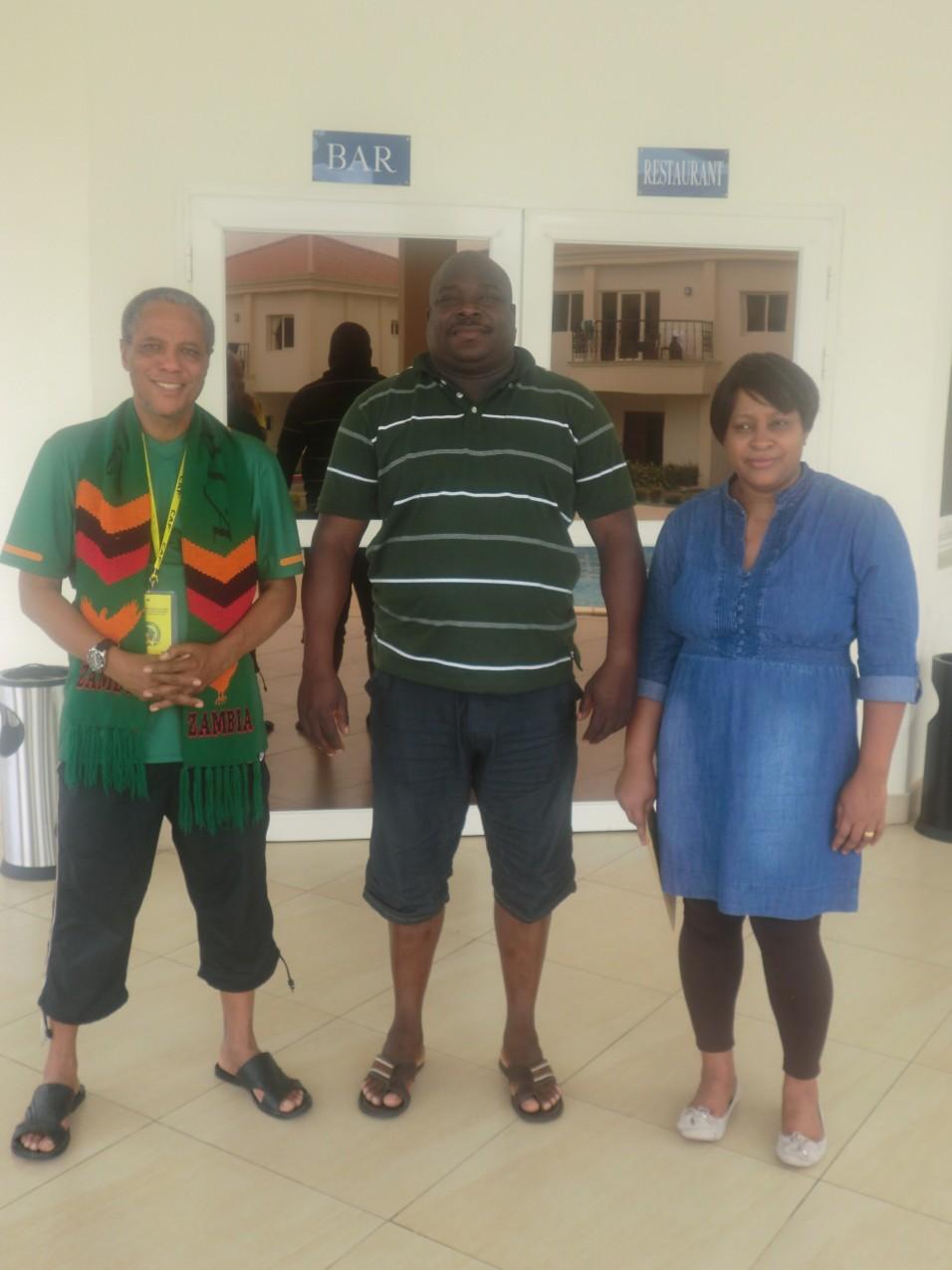 Chishimba Kambwili and friends 2